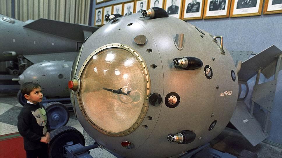 РДС-3 — одна из первых советских ядерных бомб