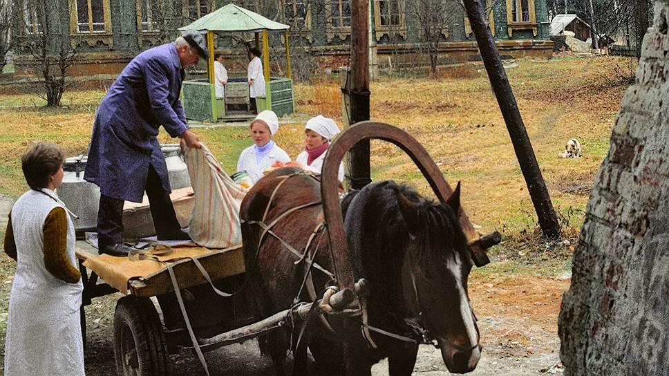 И сегодня лошадь остается самым надежным средством транспорта, в том числе и для врачей