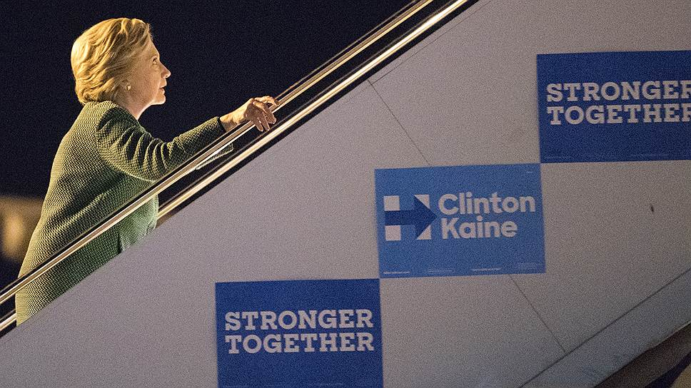Один из козырей Хиллари Клинтон в оставшиеся несколько дней кампании в том, что ей уже необязательно появляться на публике