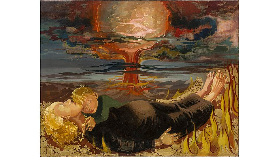 """Ханс Грундиг. """"Против атомной смерти"""". 1958"""