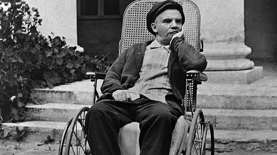 Ленин в Горках. 1923год. Одна из последних прижизненных фотографий В.И.Ленина