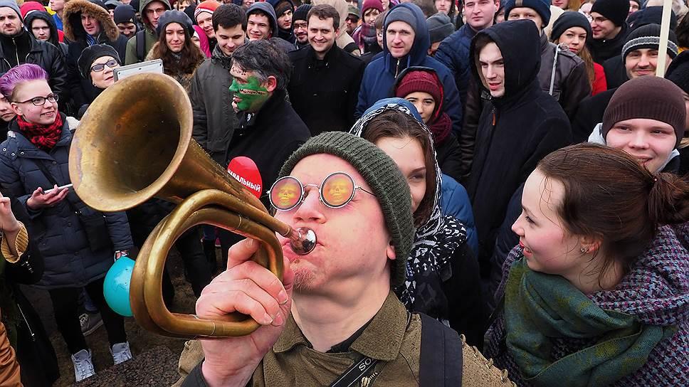 Почему протест молодеет? Размышления Дмитрия Орешкина