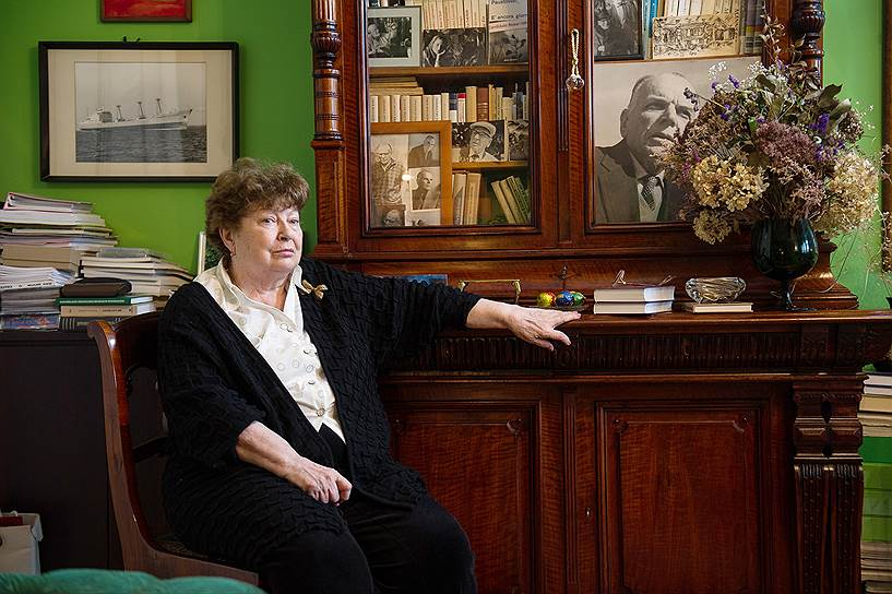 Галина Арбузова, падчерица Паустовского, заботится и о доме-музее писателя в Тарусе, и о семейной квартире в Москве