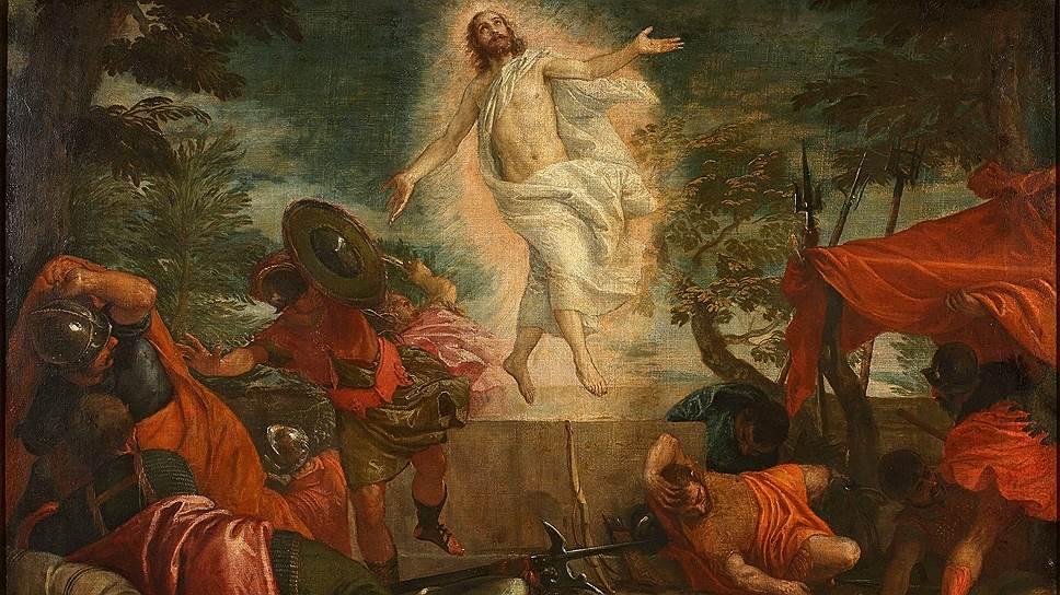 """Паоло Кальяри (Веронезе). """"Воскресение Христа"""". Около 1575"""