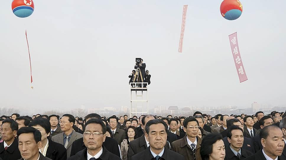 """Филипп Шансель. """"Мансудэ. Празднование 100-летия со дня рождения Ким Ир Сена. 15 апреля 2012 года"""""""
