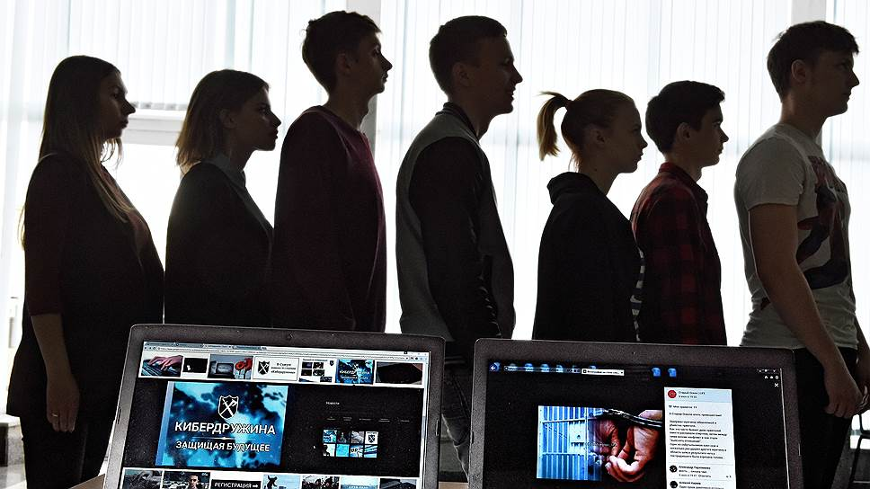 Молодежные активисты из Старого Оскола с готовностью откликнулись на призыв искать вредную информацию в Сети