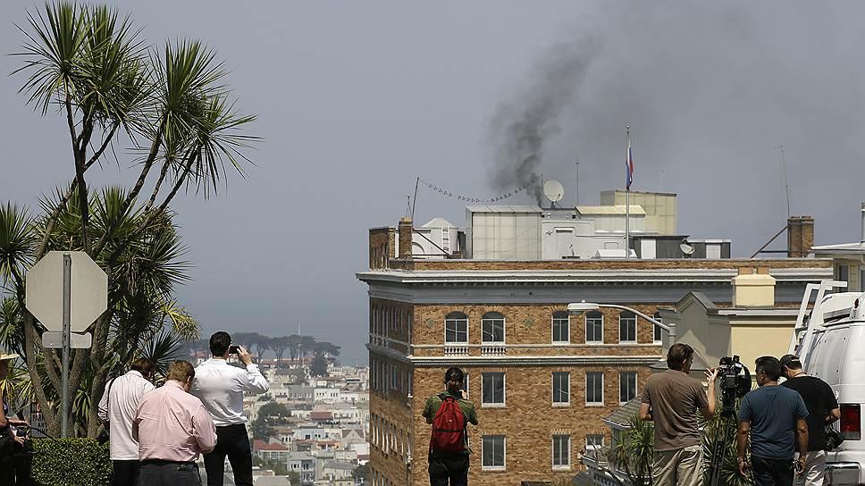 Здесь было российское генконсульство в Сан-Франциско