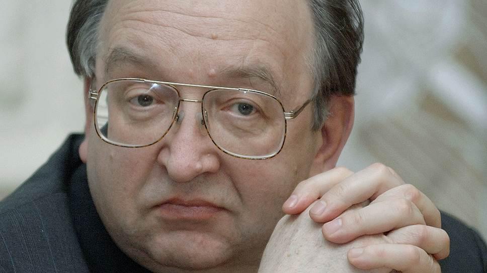 Александр Панов, замминистра иностранных дел РФ в 1994-1996 годах, заведующий кафедрой дипломатии МГИМО