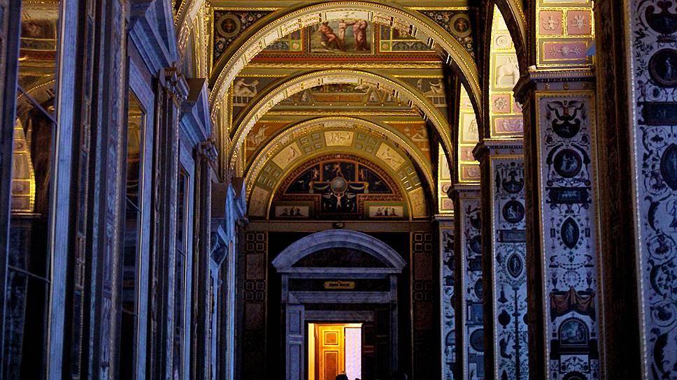Роспись Лоджий Рафаэля пережила и войны, и революции вместе с музеем