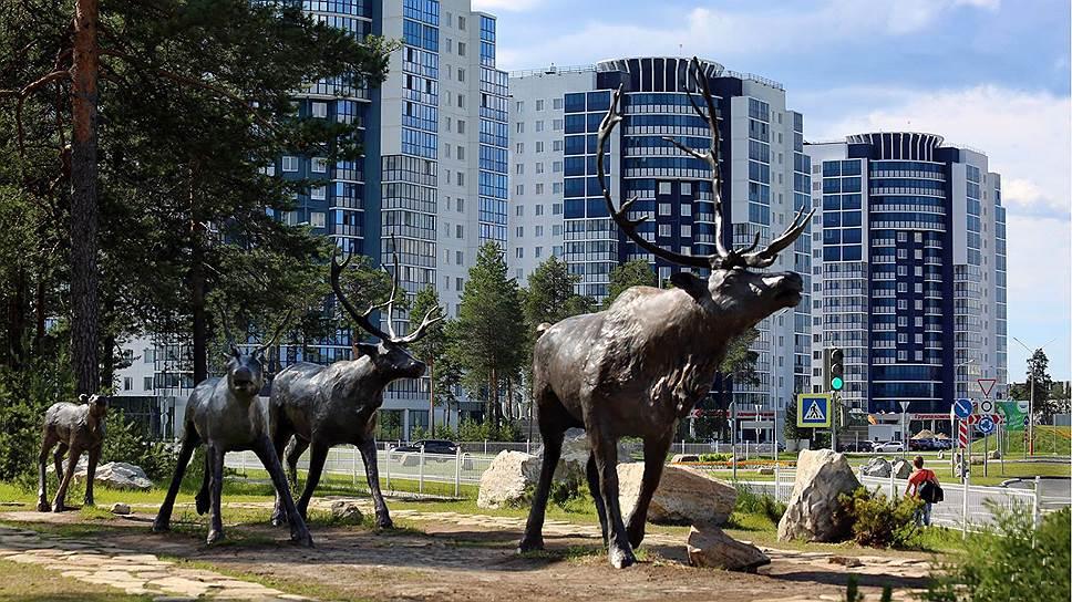 Тайга шагнула в Когалым и стала частью городского ландшафта