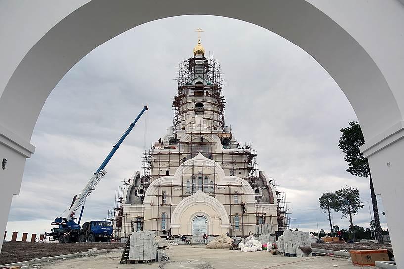 Храм Святой Татианы строится