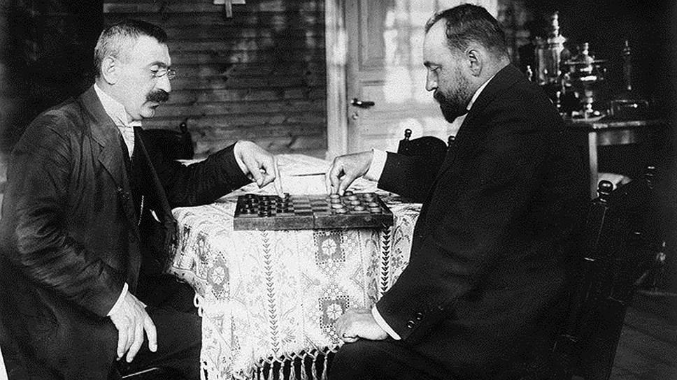 Дачные шахматы, Келломяки (ныне Комарово), 1912год