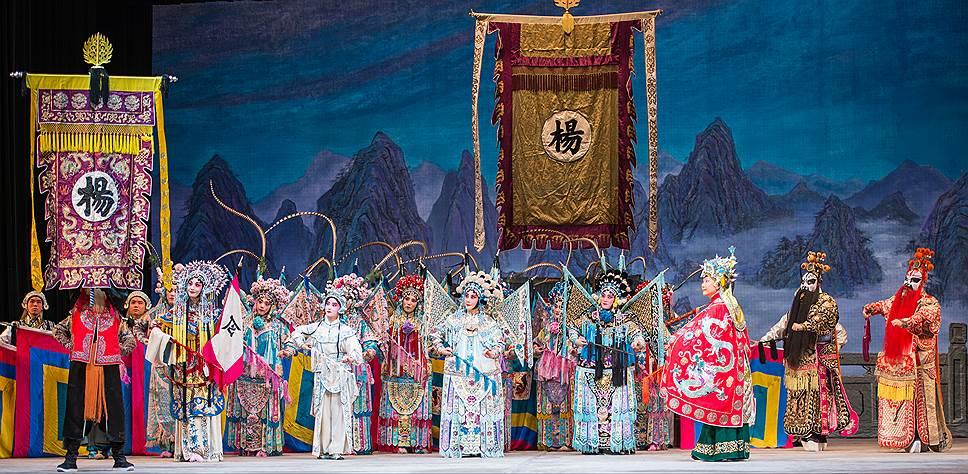 Китайская опера— это синтез музыки, хореографии и боевых искусств