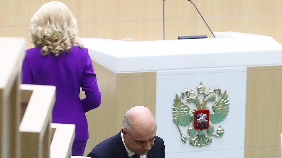 Глава Минфина Антон Силуанов с региональными бюджетами строг