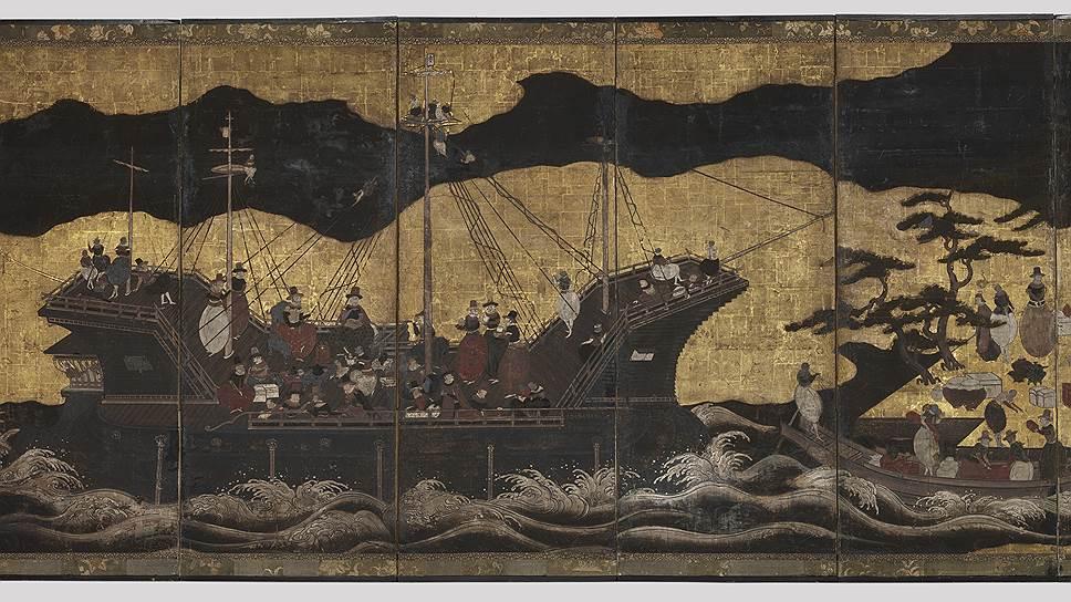 Португальские мореплаватели XVI-XVIIIвеков вдохновили художников