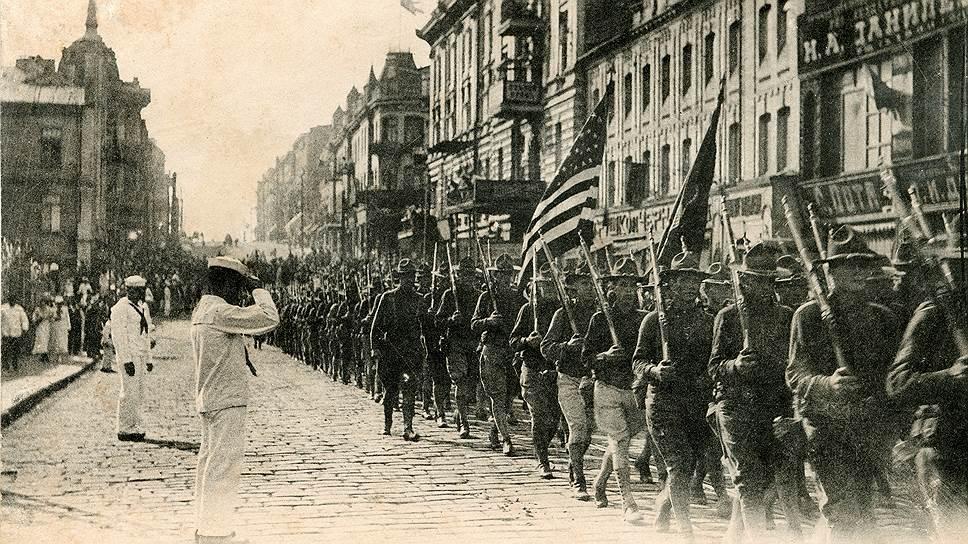 Американцы тоже тянуть не стали: их экспедиционный корпус высадился во Владивостоке летом 1918-го