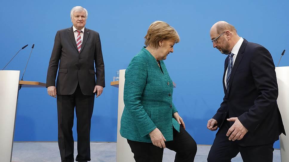 О трудностях формирования правительства  в Германии