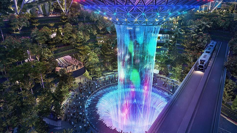 """Перемещаться внутри можно будет по """"небесным сетям"""" Sky Nets, а 40-метровый водопад станет новым чудом света"""