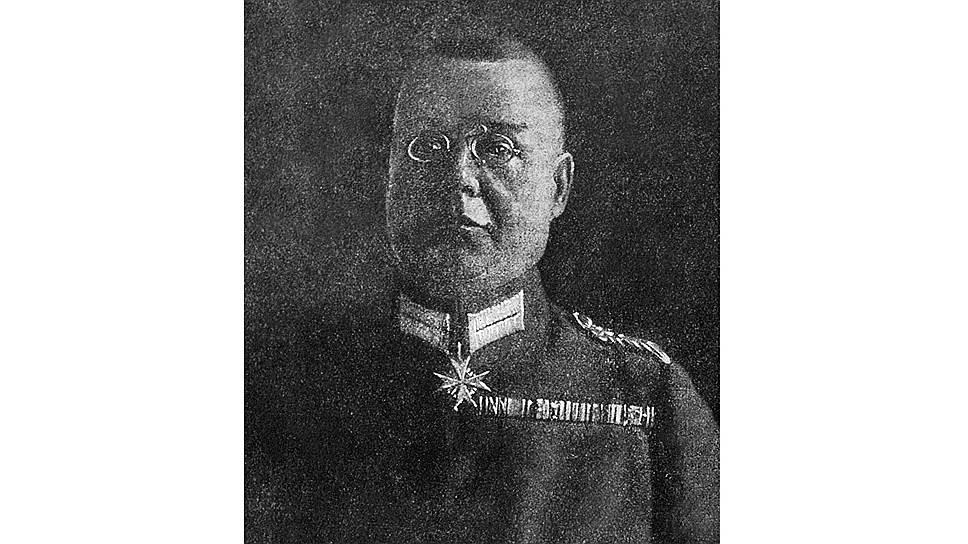 Генерал Гофман, представитель Германии на мирных переговорах, с делегатами советской власти
