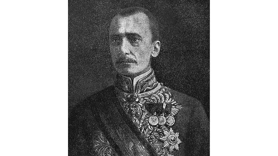 Граф фон Чернин, австрийский министр иностранных дел, представитель Австро-Венгрии на Брестской конференции