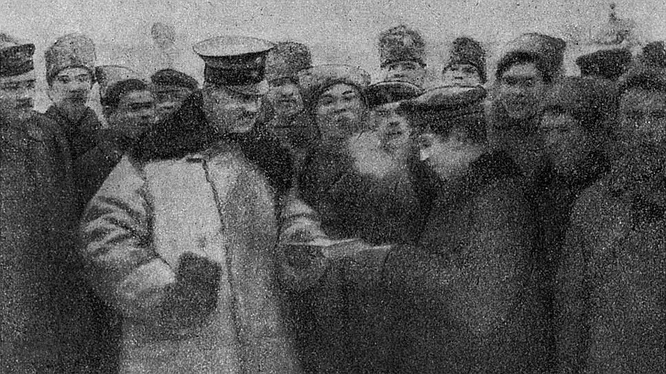 """Малоизвестная деталь: почта с территории оккупированных  германцами русских областей в Россию не поступала. Но """"немецкая квартира"""" (так именовали в Бресте германскую сторону) в качестве жеста доброй воли передавала корреспонденцию советским представителям"""