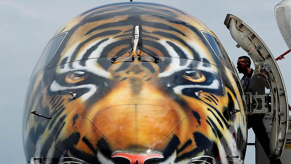 Азиатские тигры уходят в небо, но самолет перестал быть для них только средством передвижения. Теперь это еще и объект дизайна