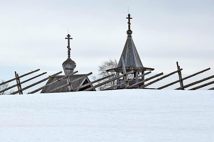 Именно в это время года лучше всего смотрится архитектура Русского Севера