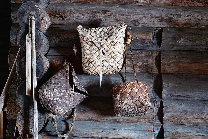 Берестяное плетение— одно из традиционных ремесел, которое сохраняют в Кижах