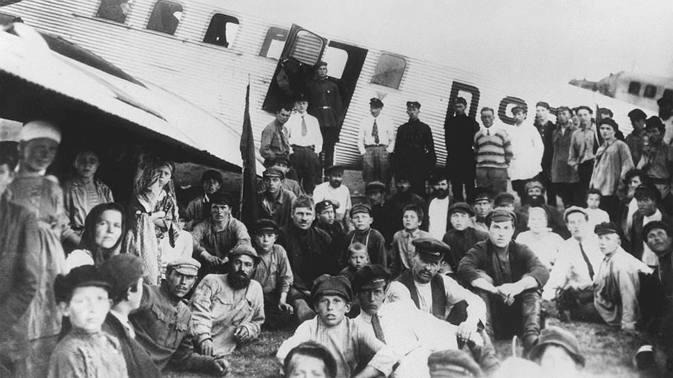 Немецкие пилоты в Москве. Первые регулярные авиалинии в советской стране запускали совместно с Германией