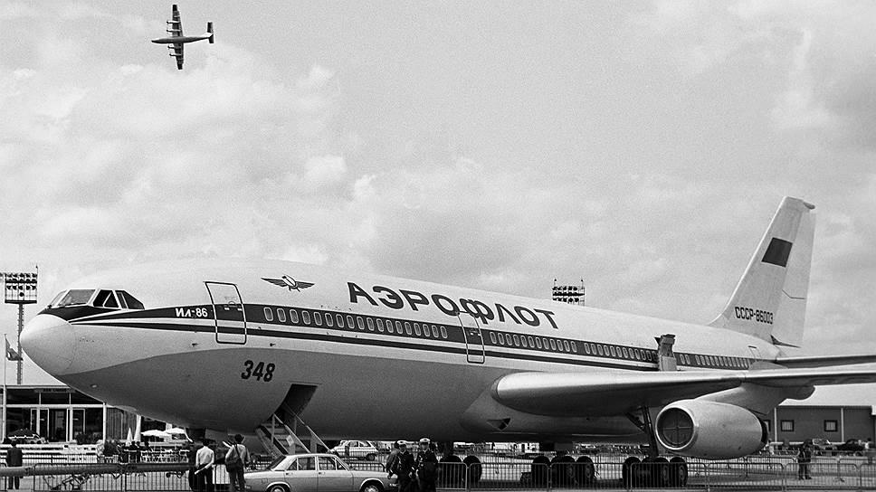Ил-86 был построен под чисто советские нужды - рейсы небольшой протяженности, но с огромным пассажиропотоком