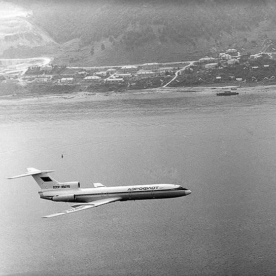 Ту-154 стал самым массовым советским самолетом