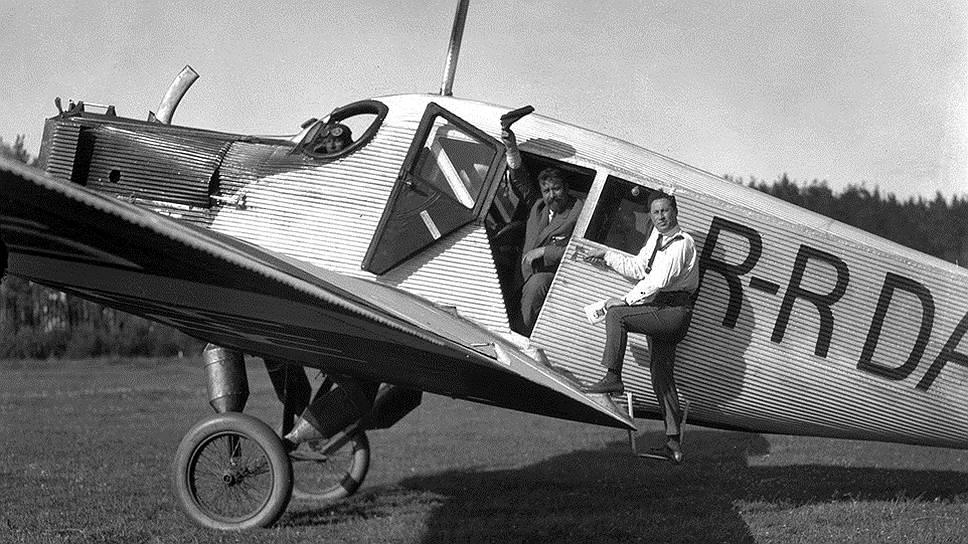 Первые советские авиалинии обслуживали немецкие Junkers F.13