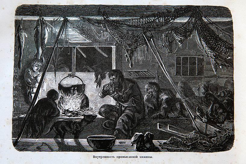 Гравюра из сборника «Живописная Россия», посвященного Русскому Северу