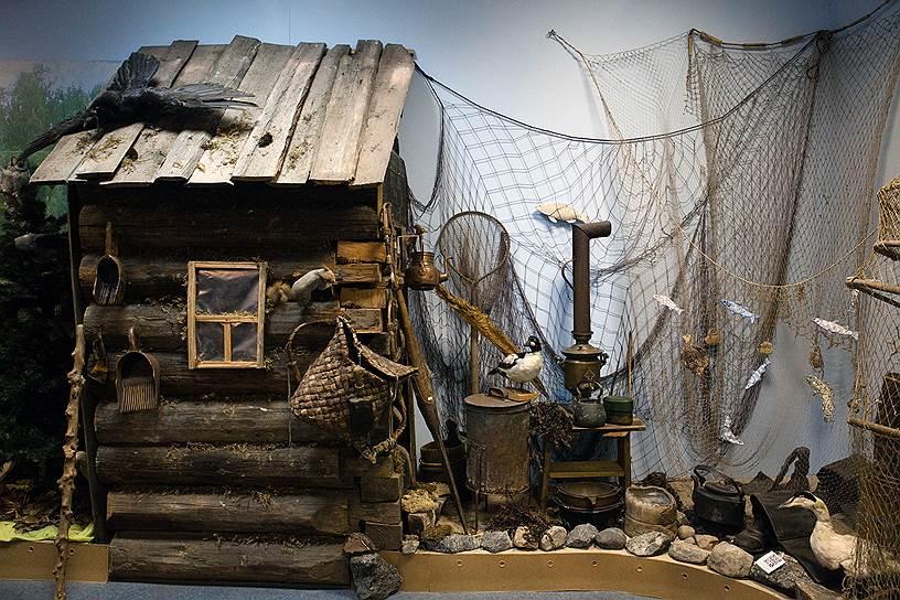 В его экспозиции — предметы быта и промысла поморов