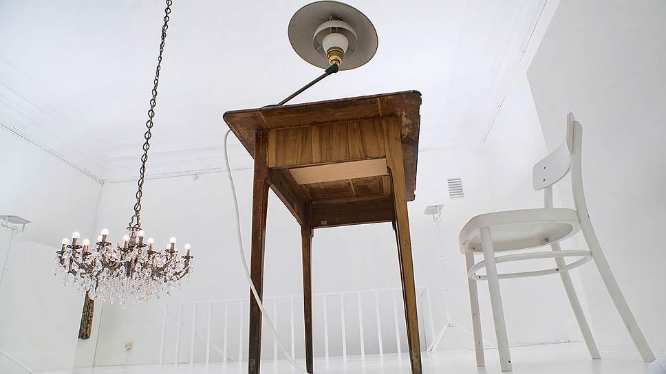 По замыслу Александра Бродского и Надежды Корбут белая комната должна напоминать чистый лист