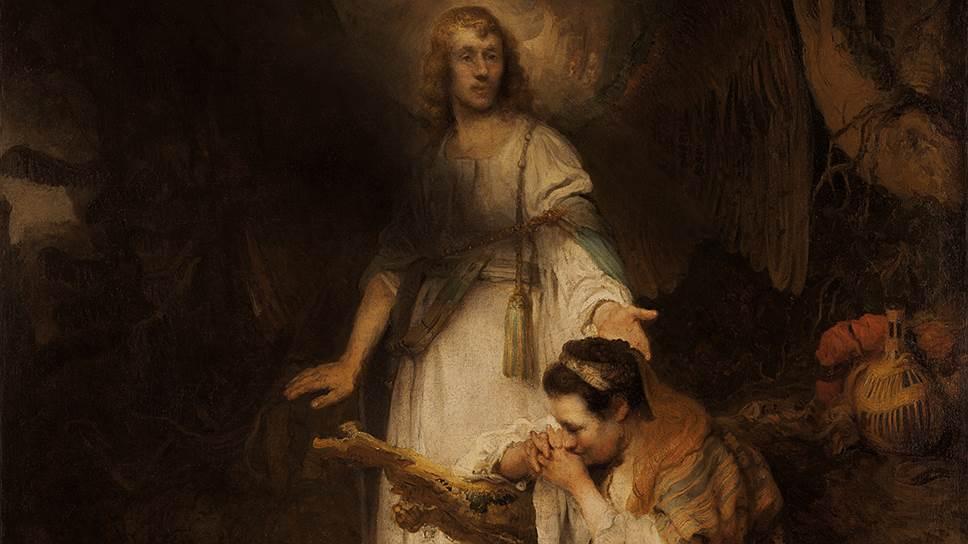 """Карел Фабрициус. """"Явление ангела Агари"""". Около 1645года"""