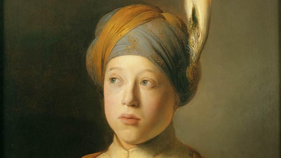 """Ян Ливенс. """"Мальчик в плаще и тюрбане"""". Около 1631года"""