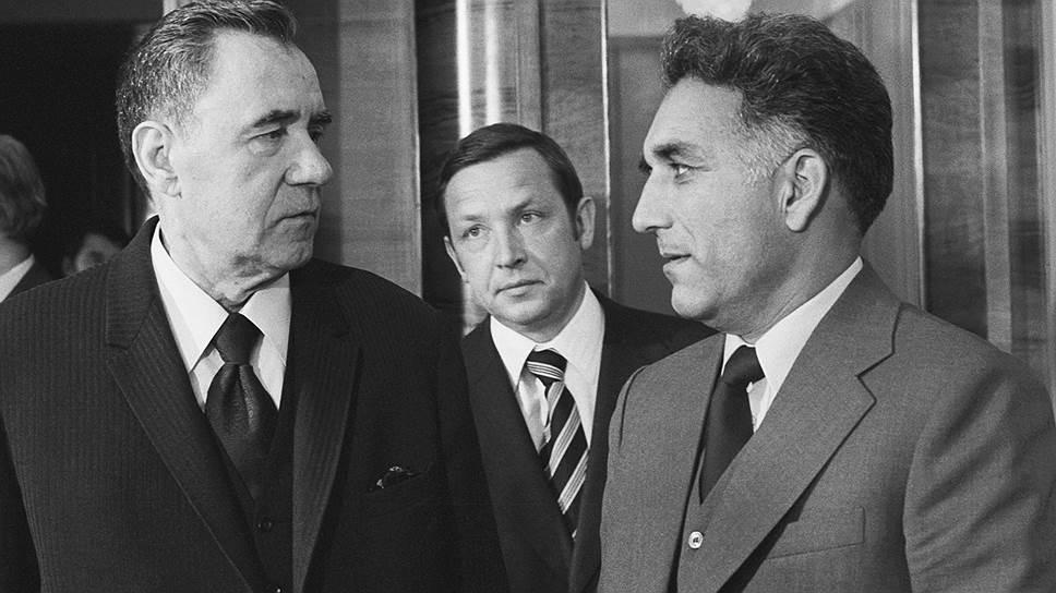 Министр иностранных дел Андрей Громыко и заместитель премьер-министра и министр иностранных дел Афганистана Хафизулла Амин. 18 мая 1978 года