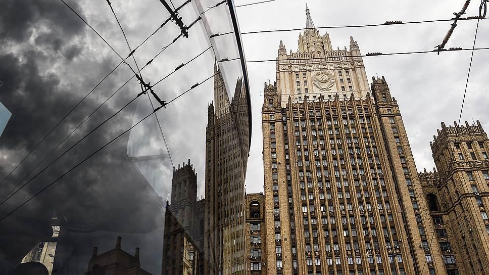 Российский МИД оценил высылку российских дипломатов как провокацию