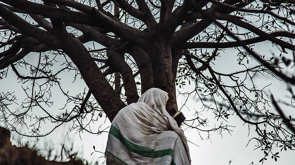 Молитва в городе Мекеле, север Эфиопии. Это столица провинции Тыграй, 95 процентов населения которой христиане