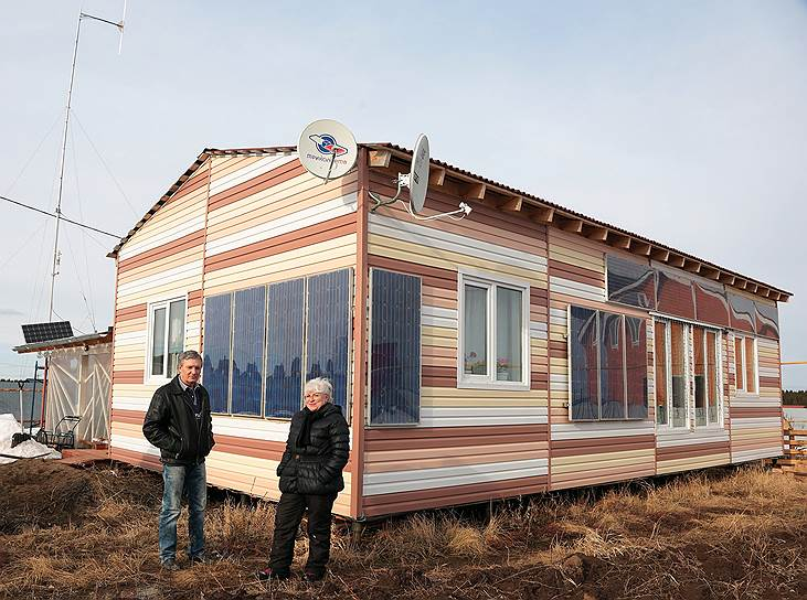 Дом супруги построили чуть больше двух лет назад и почти сразу начали радиовещание