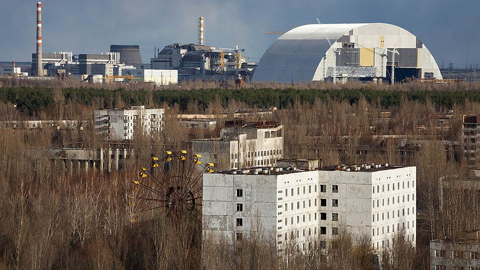 """""""Арка"""", накрывшая разрушенный взрывом 4-й энергоблок, с каждым годом становится все дороже"""