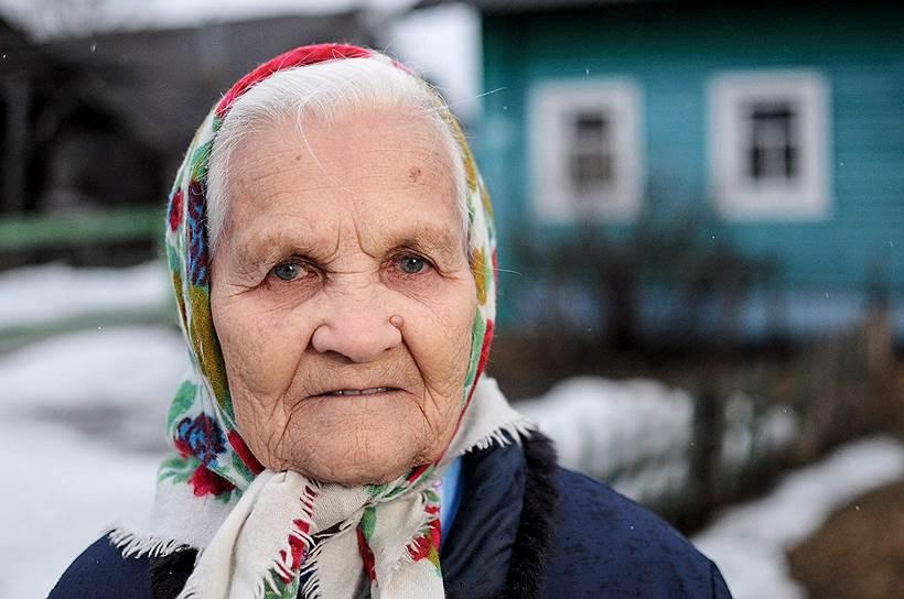 Труженица тыла Анна Никулина