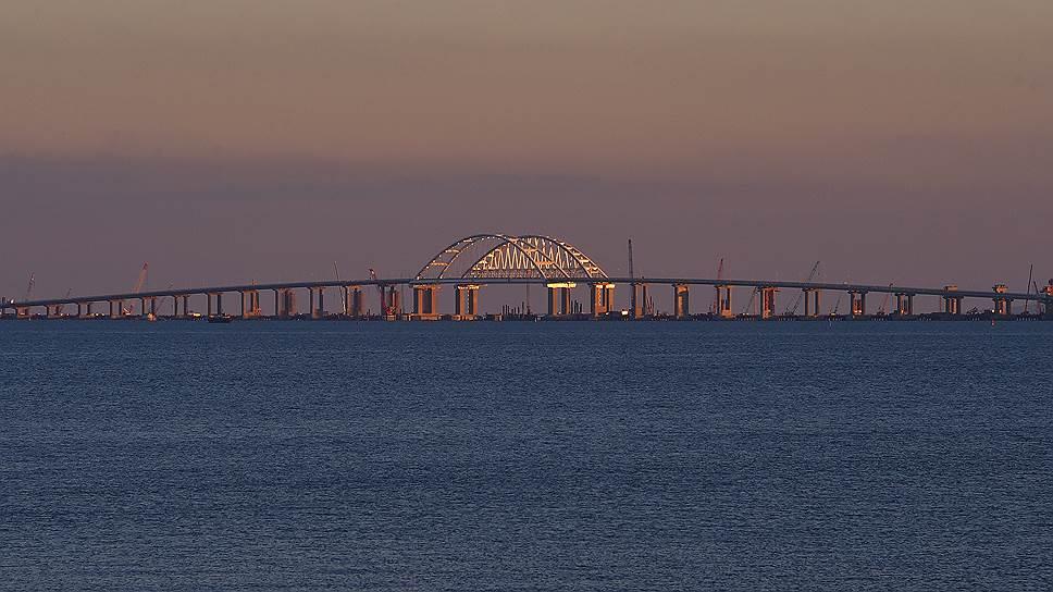 Крымский мост. Перед открытием