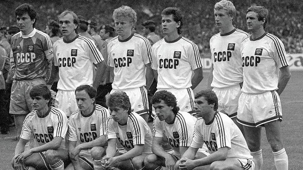 От Дасаева до Беланова: стартовый состав советской сборной на VIII чемпионате Европы по футболу в ФРГ, 1988 год