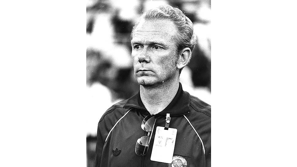 Валерий Лобановский вывел сборную СССР в лидеры мирового футбола