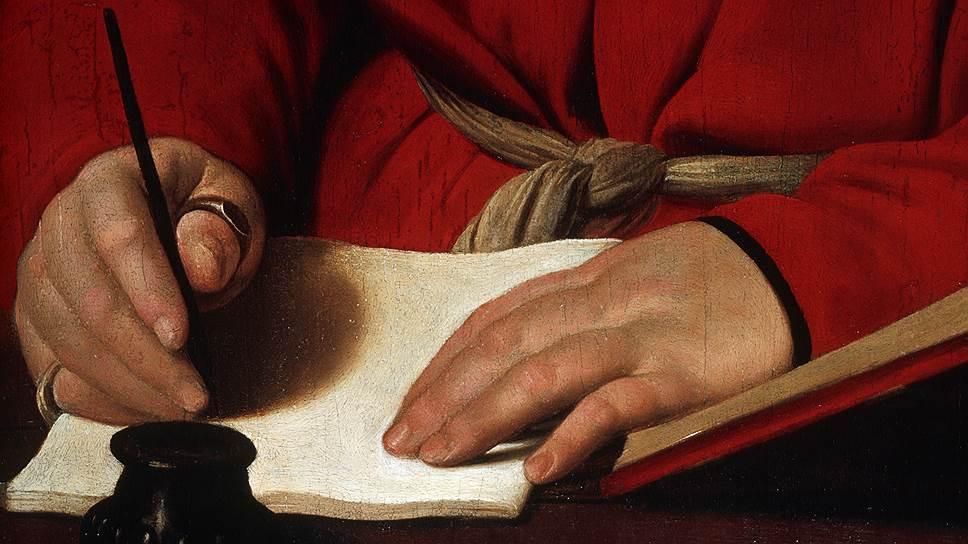 Ученые уверены: рука человека требует оставить след — это не привычка, а физиология. Поэтому и ручка в том или ином виде не умрет (на фото — фрагмент картины Рафаэля)