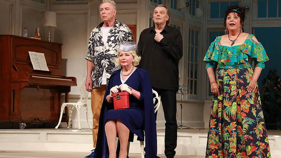 Главные герои пьесы Рональда Харвуда «Брависсимо!»— бывшие оперные певцы, которые не мыслят жизни без музыки