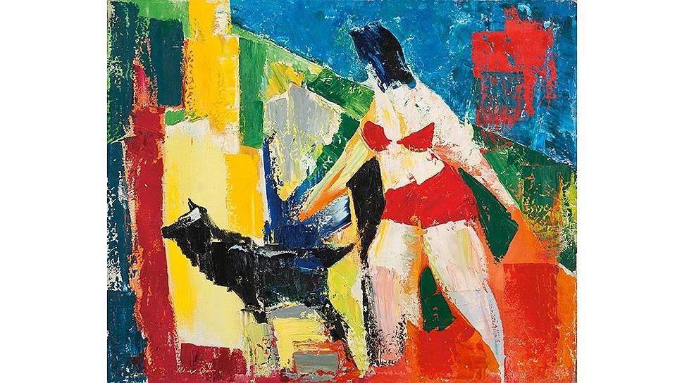 Владимир Волков «Дама с собачкой» 1986 год