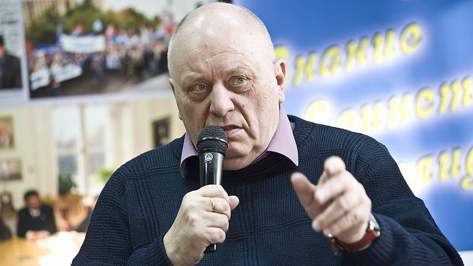 Виктор Калинушкин, председатель Профсоюза работников РАН